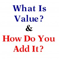 Post image for Adding Value To The Customer Relationship