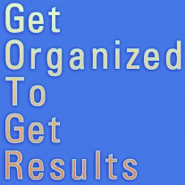 Post image for Getting Organized And Getting Started