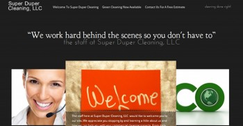 Post image for Cleaning Business Website Package BA02