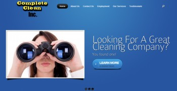 Post image for Cleaning Business Website Package ST01