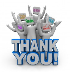 Post image for Say THANKS to all your new customers. They could have chosen ANYONE!