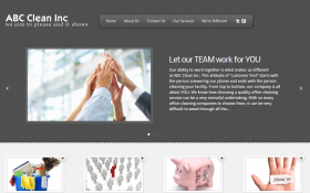 Post image for Cleaning Business Website Package BA03
